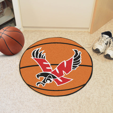 Eastern Washington University Basketball Mat 27 diameter - FANMATS - Dropship Direct Wholesale