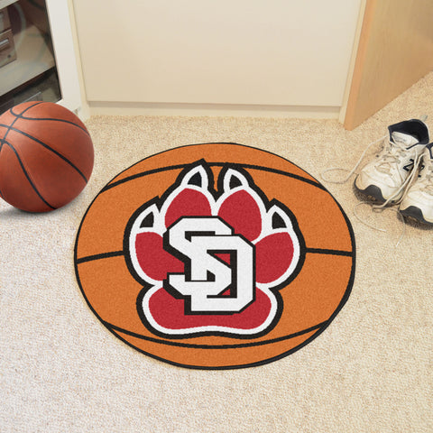University of South Dakota Basketball Mat 27 diameter - FANMATS - Dropship Direct Wholesale