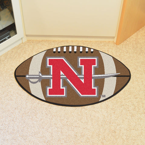 Nicholls State Football Rug 20.5x32.5 - FANMATS - Dropship Direct Wholesale