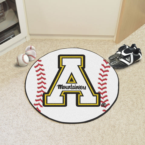 "Appalachian State Baseball Mat 27"" diameter - FANMATS - Dropship Direct Wholesale"