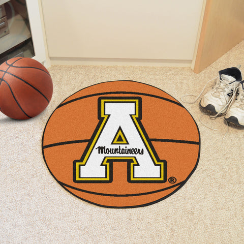 "Appalachian State Basketball Mat 27"" diameter - FANMATS - Dropship Direct Wholesale"