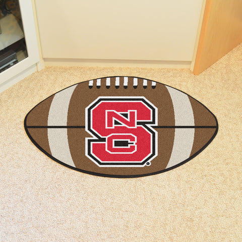 NC State Football Rug 20.5x32.5 - FANMATS - Dropship Direct Wholesale