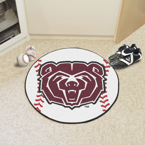 Missouri State Baseball Mat 27 diameter - FANMATS - Dropship Direct Wholesale