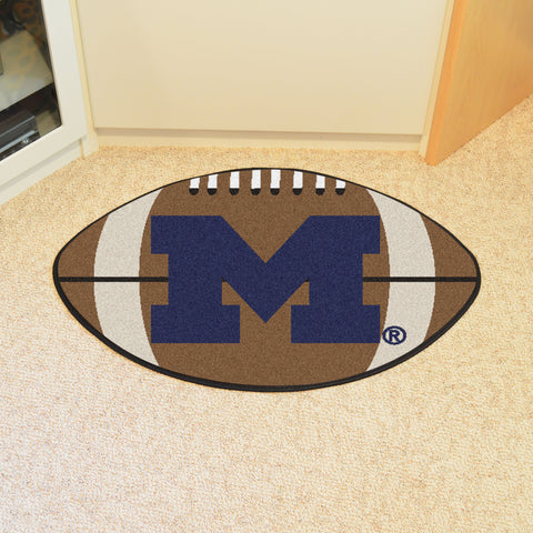 University of Michigan Football Rug 20.5x32.5 - FANMATS - Dropship Direct Wholesale
