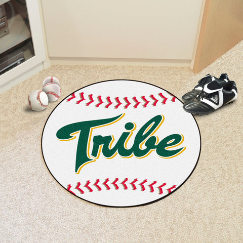 William & Mary Baseball Mat 27 diameter