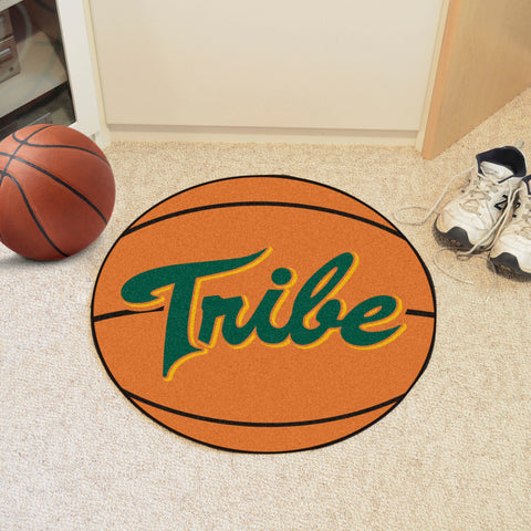 William & Mary Basketball Mat 27 diameter