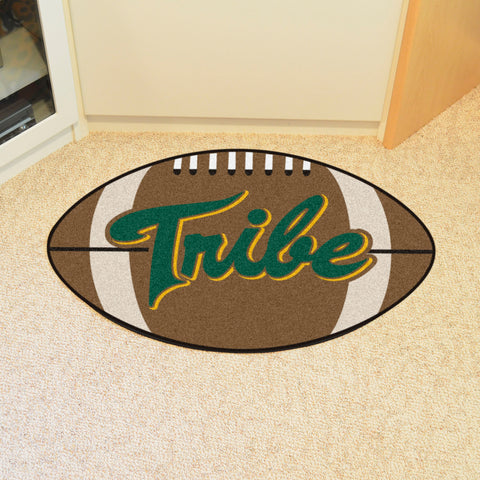 William & Mary Football Rug 20.5x32.5