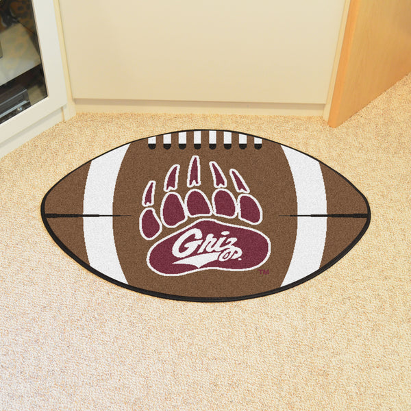 University of Montana Football Rug 20.5x32.5 - FANMATS - Dropship Direct Wholesale