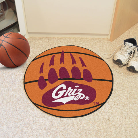 University of Montana Basketball Mat 27 diameter - FANMATS - Dropship Direct Wholesale