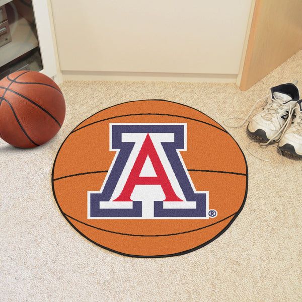 University of Arizona Basketball Mat 27 diameter - FANMATS - Dropship Direct Wholesale