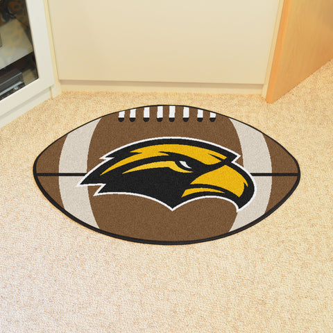 University of Southern Mississippi Football Rug 20.5x32.5 - FANMATS - Dropship Direct Wholesale