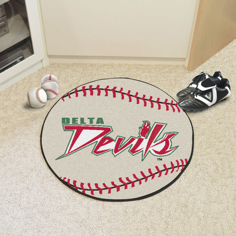Mississippi Valley State Baseball Mat 27 diameter - FANMATS - Dropship Direct Wholesale