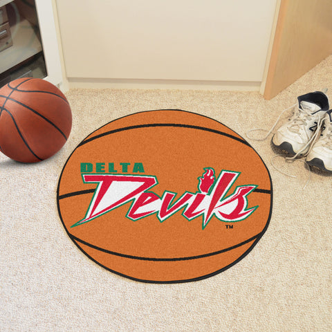 Mississippi Valley State Basketball Mat 27 diameter - FANMATS - Dropship Direct Wholesale