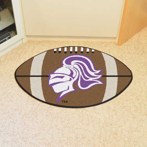 College of Holy Cross Football Rug 20.5x32.5 - FANMATS - Dropship Direct Wholesale