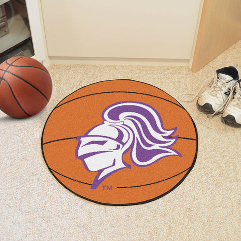 College of Holy Cross Basketball Mat 27 diameter - FANMATS - Dropship Direct Wholesale