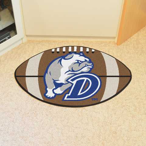 Drake University Football Rug 20.5x32.5 - FANMATS - Dropship Direct Wholesale