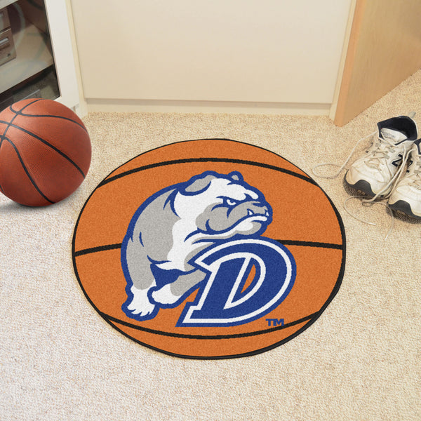 Drake University Basketball Mat 27 diameter - FANMATS - Dropship Direct Wholesale