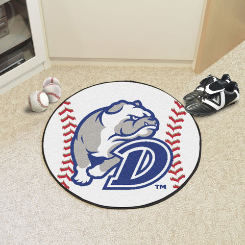 Drake University Baseball Mat 27 diameter - FANMATS - Dropship Direct Wholesale