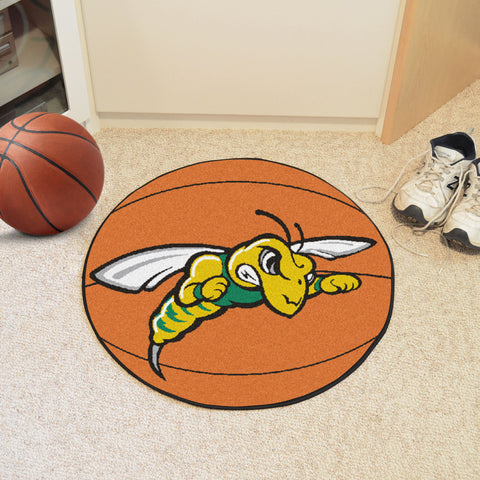 Black Hills State Basketball Mat 27 diameter - FANMATS - Dropship Direct Wholesale