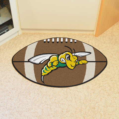 Black Hills State Football Rug 20.5x32.5 - FANMATS - Dropship Direct Wholesale