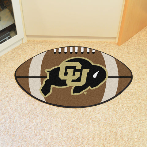 University of Colorado Football Rug 20.5x32.5 - FANMATS - Dropship Direct Wholesale