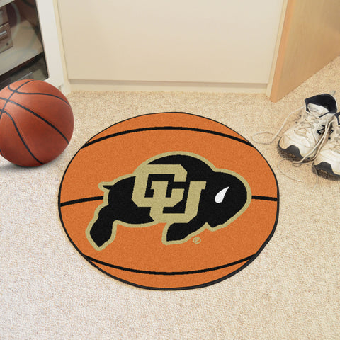 University of Colorado Basketball Mat 27 diameter - FANMATS - Dropship Direct Wholesale