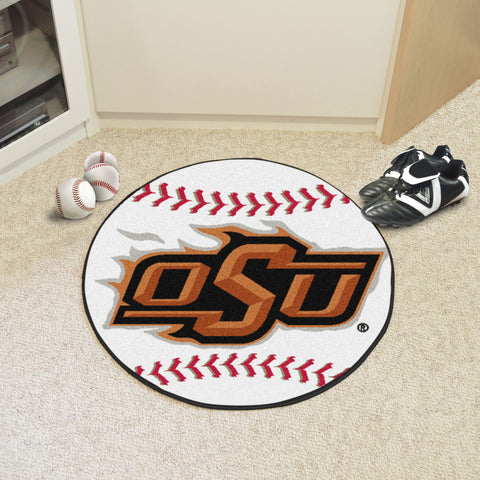 Oklahoma State Baseball Mat 27 diameter - FANMATS - Dropship Direct Wholesale