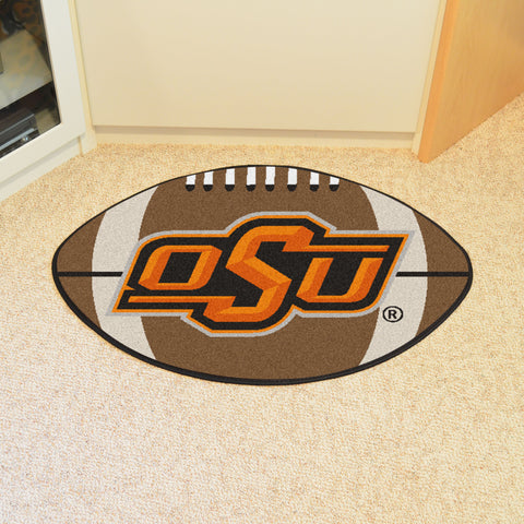 Oklahoma State Football Rug 20.5x32.5 - FANMATS - Dropship Direct Wholesale