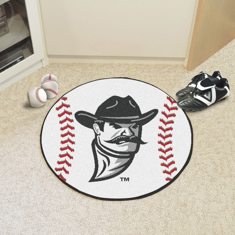 New Mexico State Baseball Mat 27 diameter - FANMATS - Dropship Direct Wholesale