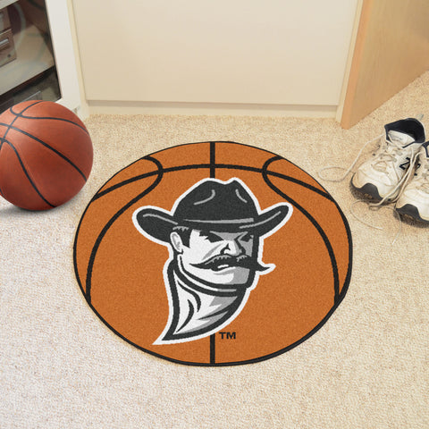 New Mexico State Basketball Mat 27 diameter - FANMATS - Dropship Direct Wholesale