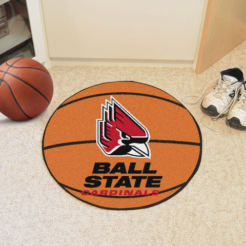 Ball State Basketball Mat 27 diameter - FANMATS - Dropship Direct Wholesale