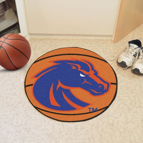 Boise State Basketball Mat 27 diameter - FANMATS - Dropship Direct Wholesale