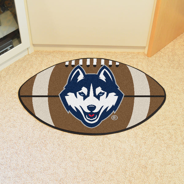 University of Connecticut Football Rug 20.5x32.5 - FANMATS - Dropship Direct Wholesale