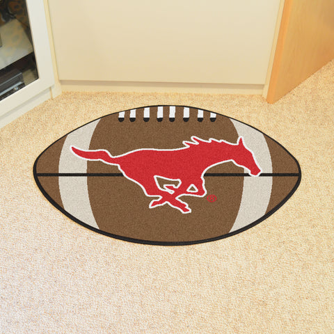 Southern Methodist U Football Rug 20.5x32.5 - FANMATS - Dropship Direct Wholesale