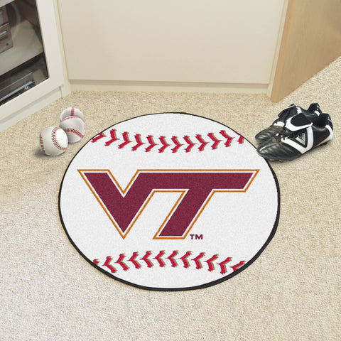 Virginia Tech Baseball Mat 27 diameter - FANMATS - Dropship Direct Wholesale