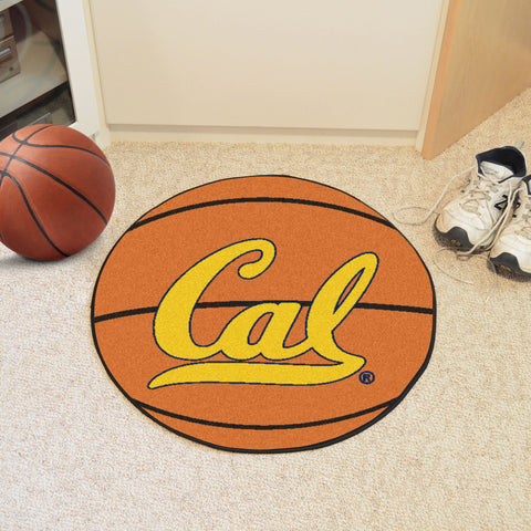 UC Berkeley Basketball Mat 27 diameter - FANMATS - Dropship Direct Wholesale