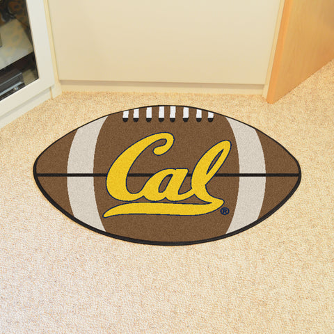 UC Berkeley Football Rug 20.5x32.5 - FANMATS - Dropship Direct Wholesale