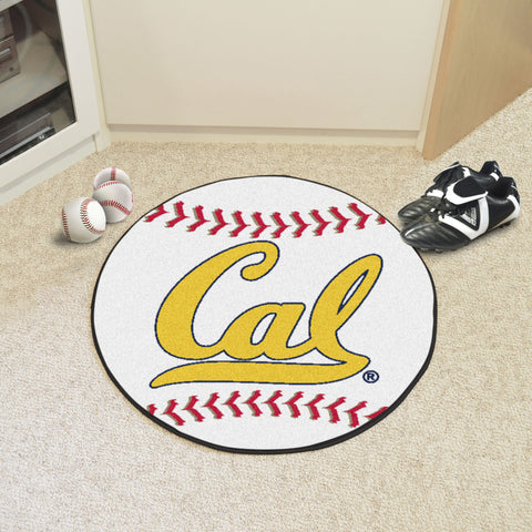 UC Berkeley Baseball Mat 27 diameter - FANMATS - Dropship Direct Wholesale