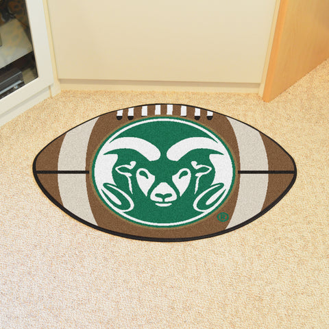 Colorado State Football Rug 20.5x32.5 - FANMATS - Dropship Direct Wholesale