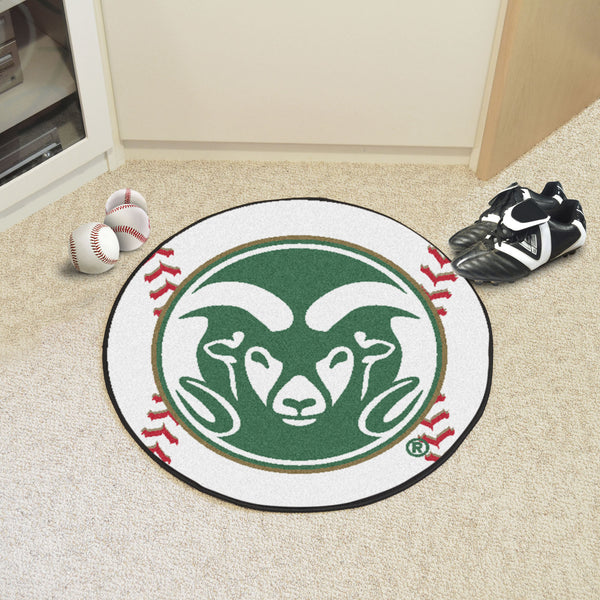 Colorado State Baseball Mat 27 diameter - FANMATS - Dropship Direct Wholesale