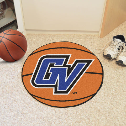 Grand Valley State Basketball Mat 27 diameter - FANMATS - Dropship Direct Wholesale