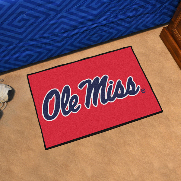 University of Mississippi Starter Rug 20x30 - FANMATS - Dropship Direct Wholesale