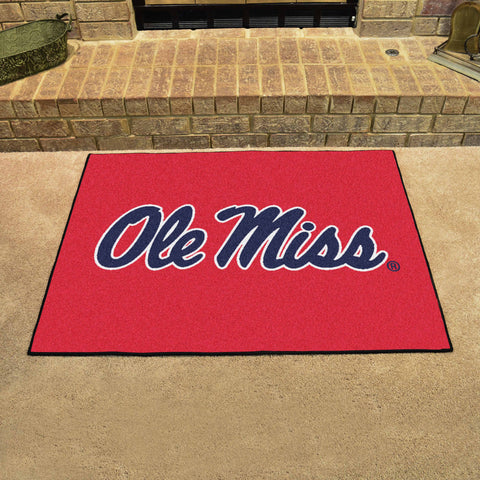 University of Mississippi All-Star Mat 33.75x42.5 - FANMATS - Dropship Direct Wholesale