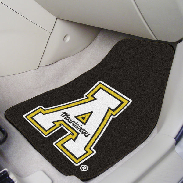 "Appalachian State 2-piece Carpeted Car Mats 17""x27"" - FANMATS - Dropship Direct Wholesale"