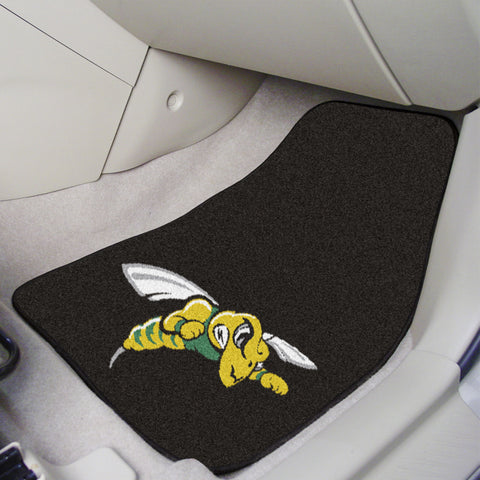 Black Hills State 2-piece Carpeted Car Mats 17x27 - FANMATS - Dropship Direct Wholesale
