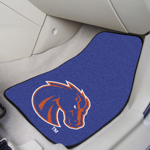 Boise State 2-piece Carpeted Car Mats 17x27 - FANMATS - Dropship Direct Wholesale