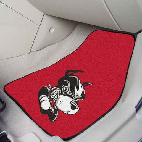 Boston University 2-piece Carpeted Car Mats 17x27 - FANMATS - Dropship Direct Wholesale