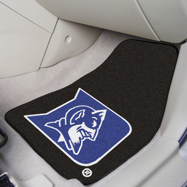 Duke University 2-piece Carpeted Car Mats 17x27 - FANMATS - Dropship Direct Wholesale