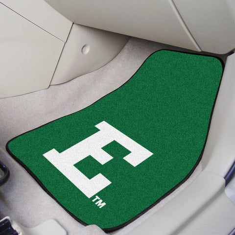 Eastern Michigan University 2-piece Carpeted Car Mats 17x27 - FANMATS - Dropship Direct Wholesale
