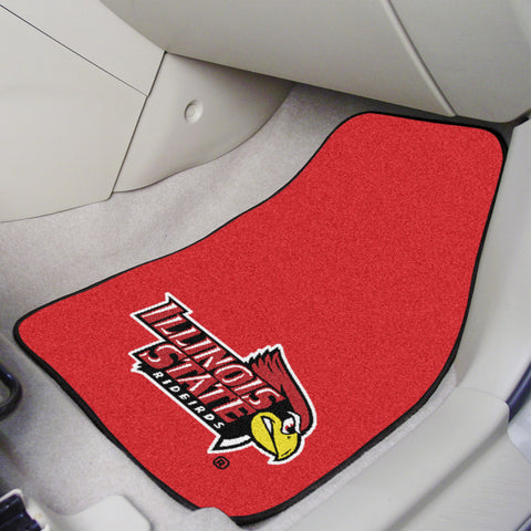 Illinois State 2-piece Carpeted Car Mats 17x27 - FANMATS - Dropship Direct Wholesale
